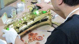 サンキョウフルート修理 管楽器修理